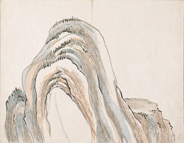 Untitled (Mountains) - Ike no Taiga
