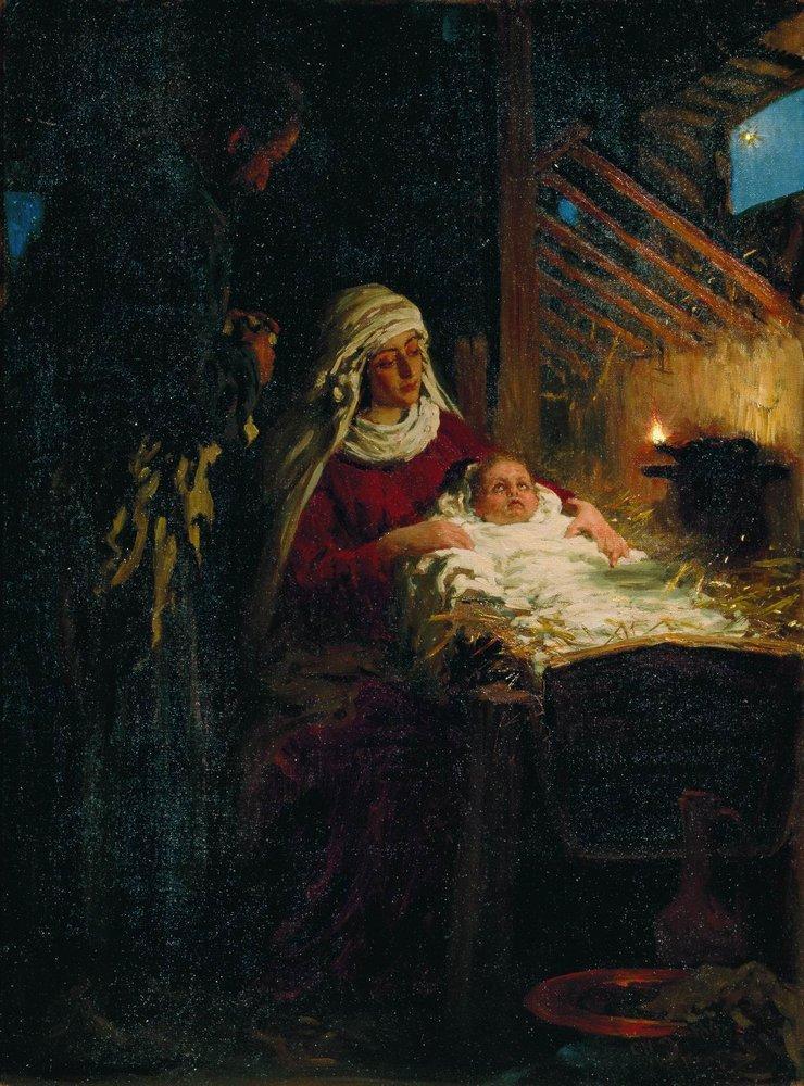 Nativity, 1890