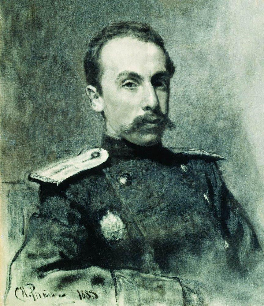 Portrait of A.V. Zhirkevich, 1888
