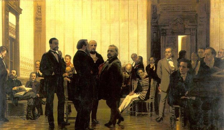Slavic composers, 1872 - Ilya Repin