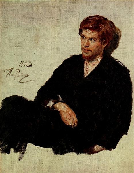 Student Nihilist, 1883 - Ilya Repin