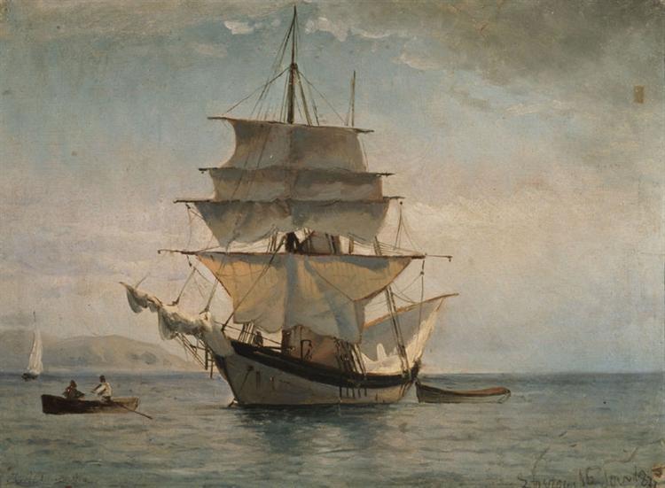 Boat to Spetses, 1877 - Иоаннис Алтамурас