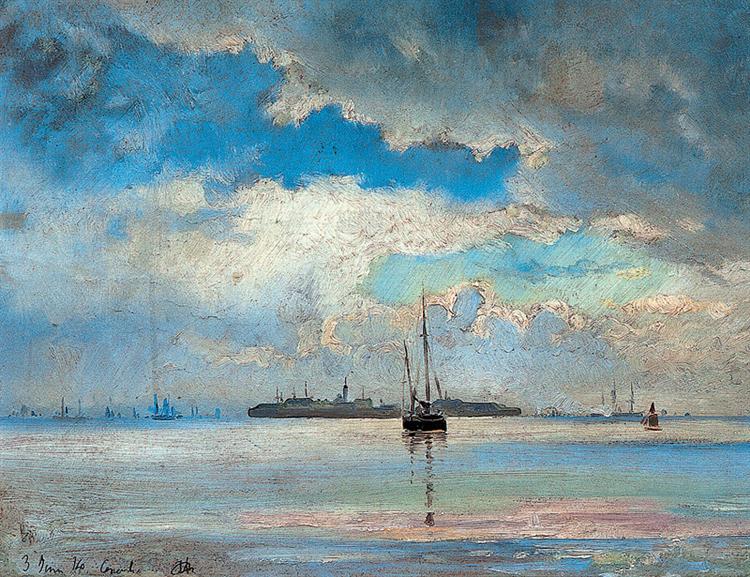 Seascape, 1874 - Иоаннис Алтамурас
