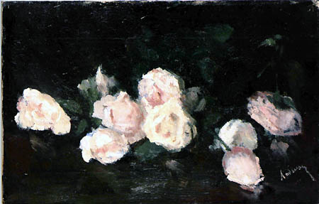 Pink Roses - Ion Andreescu