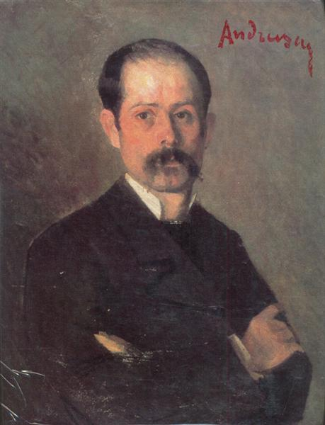 Self Portrait, 1882 - Ion Andreescu