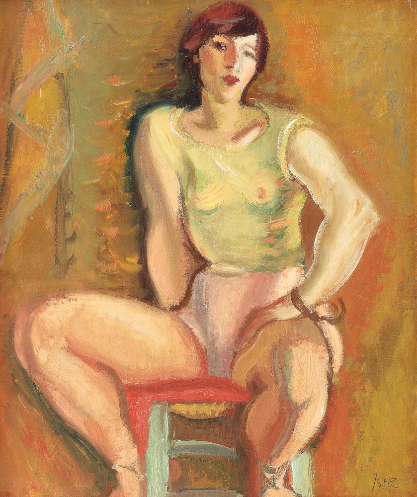 Baletistă, 1930
