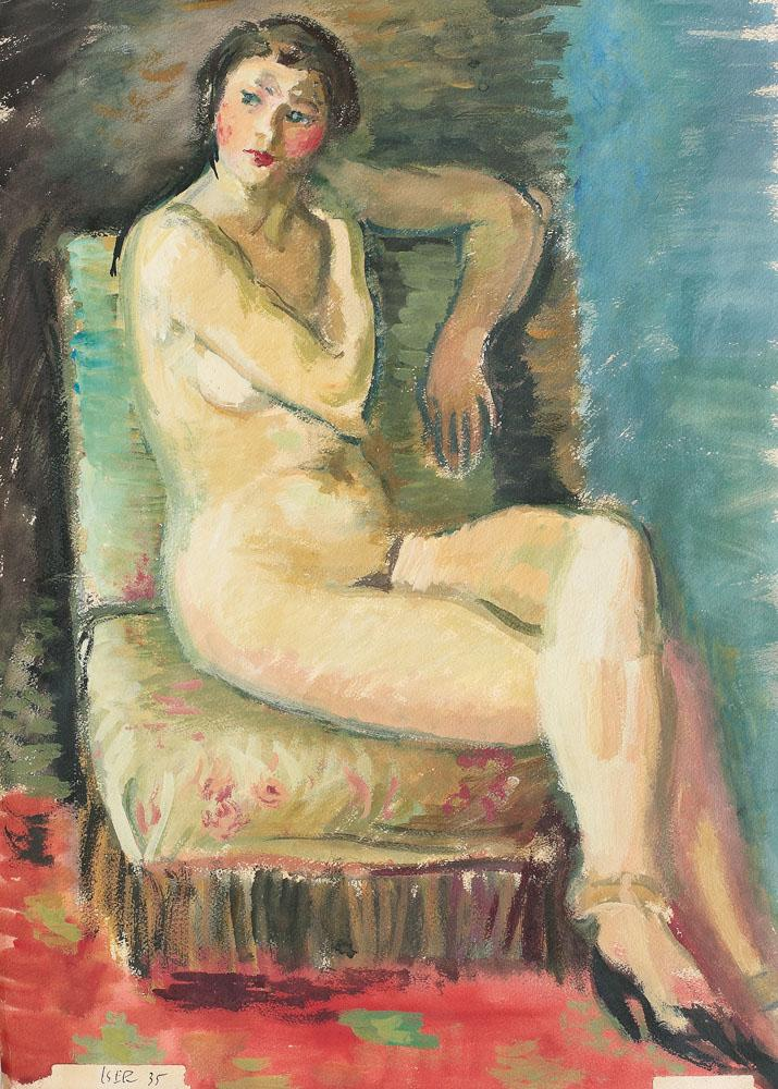Nude on the Chair, 1935
