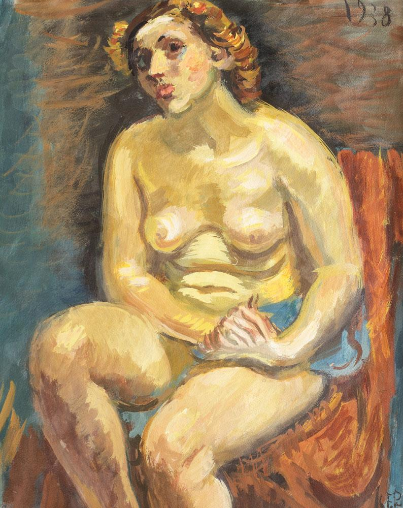 Nude on the Chair, 1938