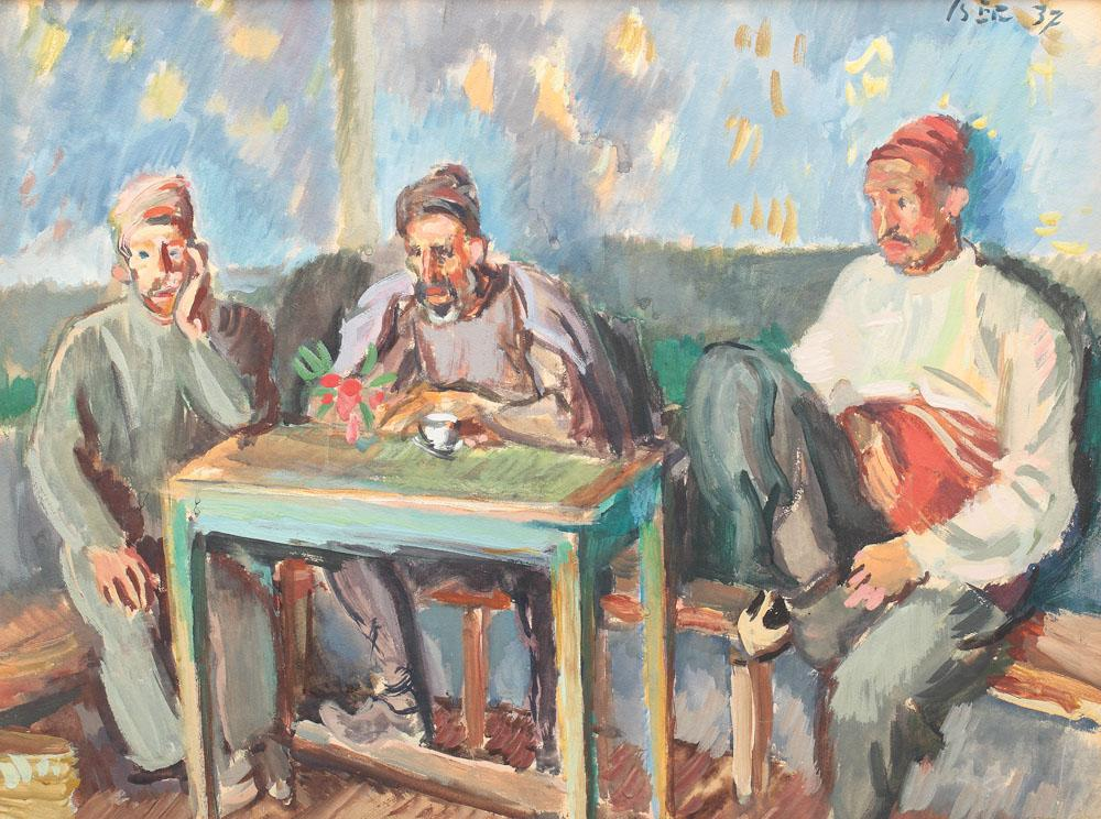 Turks at the Cafe, 1937