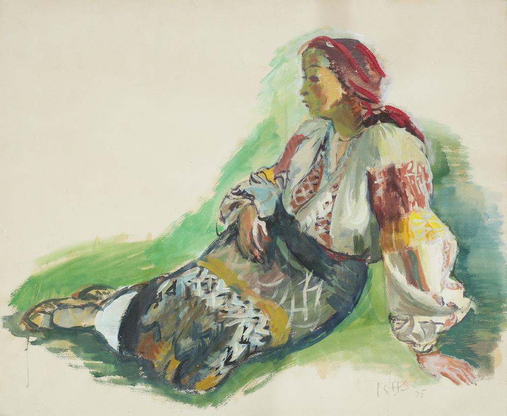 Woman from Muscel, 1935