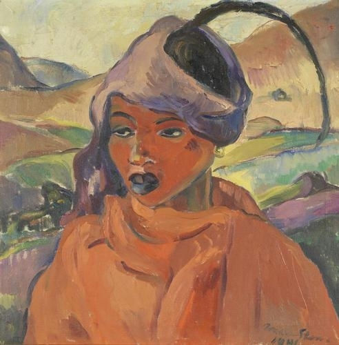 Irma Stern The Hunt Young Xhosa Woman Irma Stern