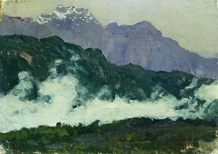 Alps, 1897 - Isaak Iljitsch Lewitan