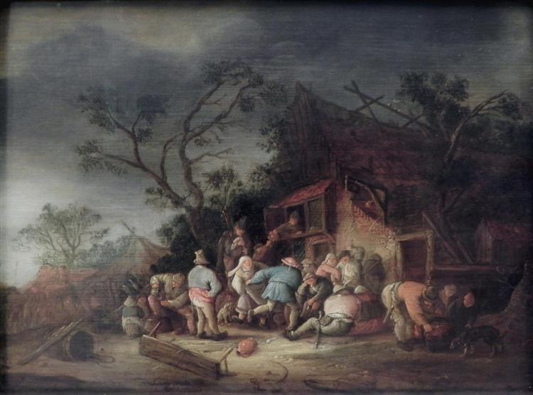 Tavern, 1644 - Isaac van Ostade