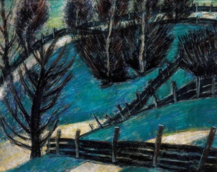 Fences, 1927 - Istvan Nagy