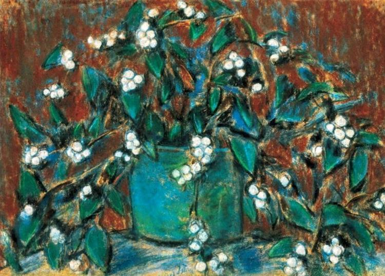 Mistletoe bunch, 1920 - Istvan Nagy
