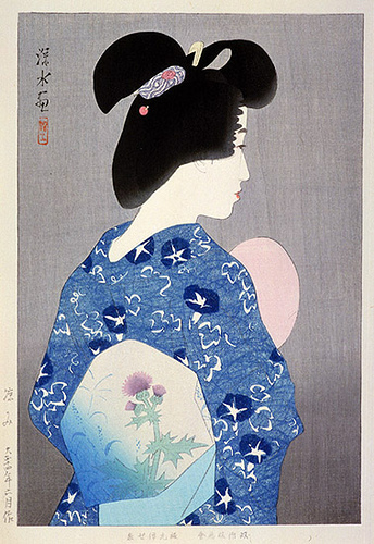 Getting Cool Air, 1925 - Ito Shinsui