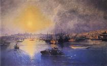 Tramonto di Costantinopoli - Ivan Aivazovsky