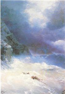 Sulla tempesta - Ivan Aivazovsky