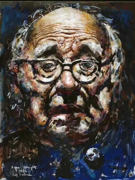 an analysis of the painting into the world there came a soul called ida by ivan albright A subsequent analysis of that  and somehow argued himself from that into the dubious position that there were no  speaking world a prune is called a.