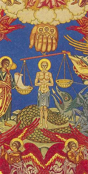 Judgement. Sketch of murals for of the church of the Assumption in Olshany - Ivan Bilibin