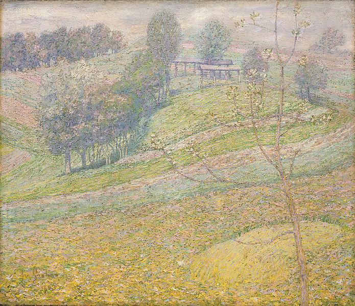 Spring, 1903 - Ivan Grohar