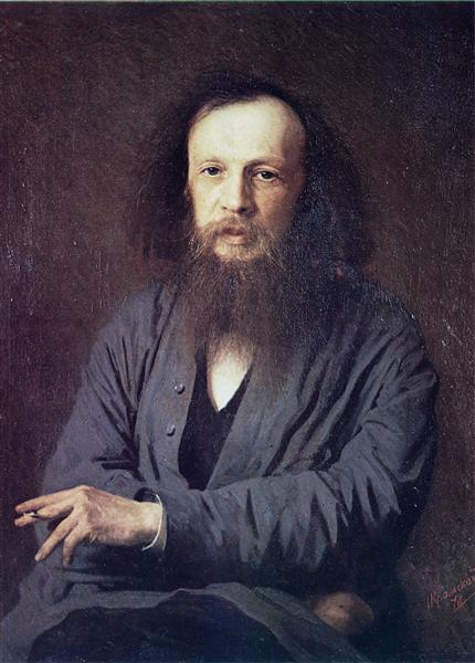 D. I. Mendeleev, 1878 - Ivan Kramskoy