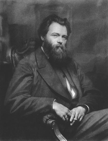 Portrait of the painter Ivan Shishkin - Ivan Kramskoy