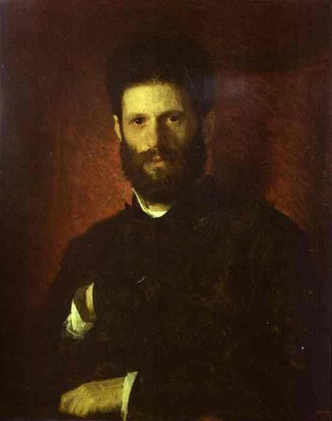 Portrait of the Sculptor Mark Antokolsky, 1876 - Ivan Kramskoy