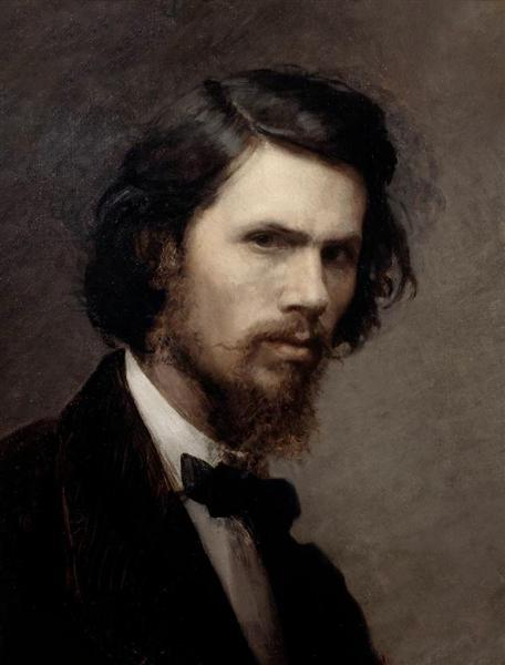 Self-portrait, 1867 - Ivan Kramskoy