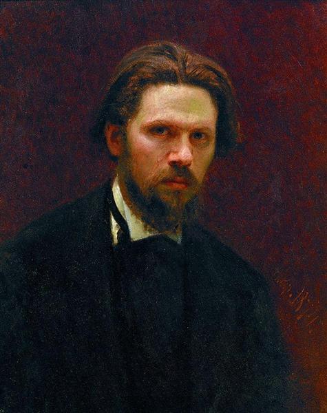 Self-portrait, 1874 - Ivan Kramskoy
