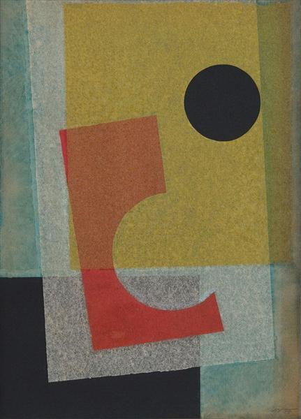 Collage, 1955 - Ivan Serpa