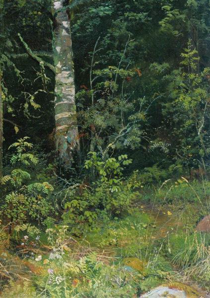 Birch and mountain ash, 1878 - Ivan Shishkin