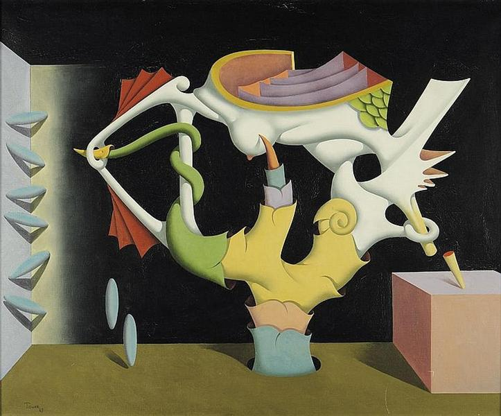 La plume aveugle, 1969 - Ivan Tovar