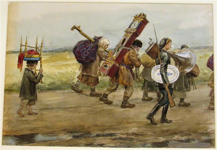 From their homes - Ivan Vladimirov