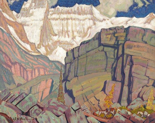 Mount Lefroy - J. E. H. MacDonald
