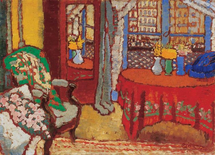 Parisian Interior, 1910 - Jozsef Rippl-Ronai