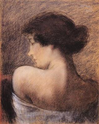 Profile of a Woman, 1919 - Йожеф Ріпль-Ронаї