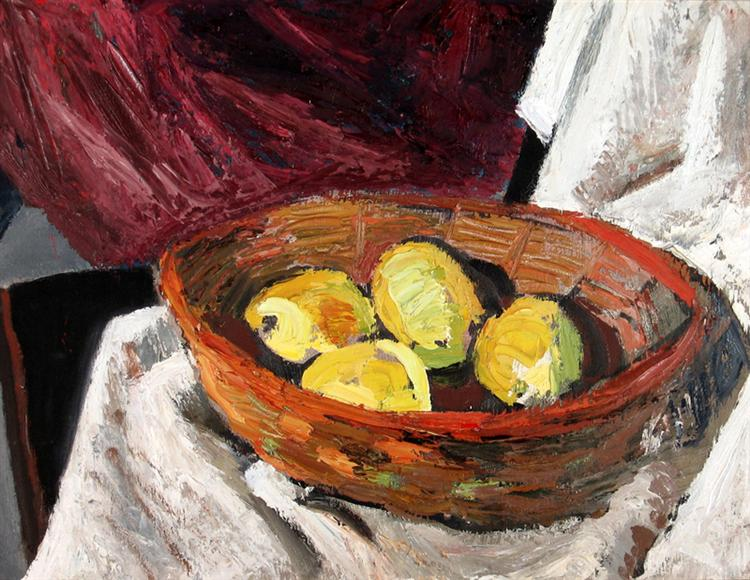Lemon in a Basket, 1952 - Jack Bush