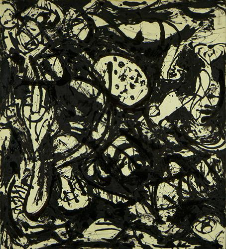 Black & White (Number 20) - Jackson Pollock