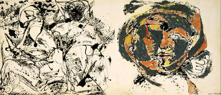Portrait and a Dream, 1953 - Jackson Pollock