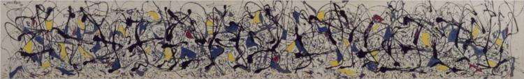 Summertime: Number 9A, 1948 - Jackson Pollock