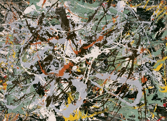 Untitled (Green Silver), 1949 - Jackson Pollock