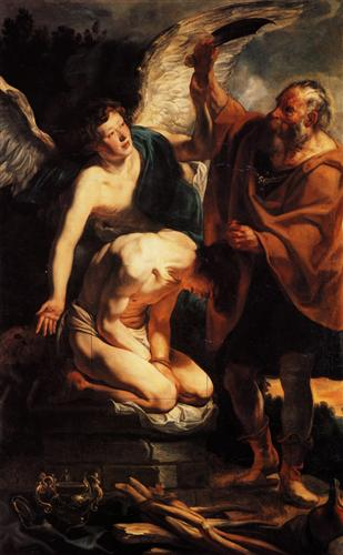 The Sacrifice of Isaac - Jacob Jordaens