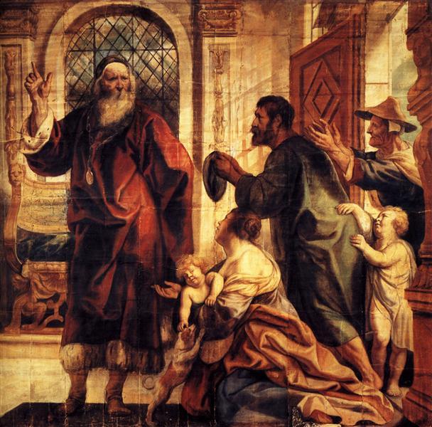 Usury is a great evil, 1645 - Jacob Jordaens
