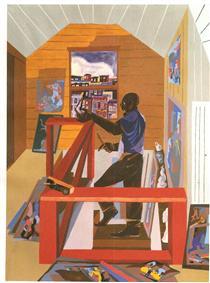 The Studio - Jacob Lawrence