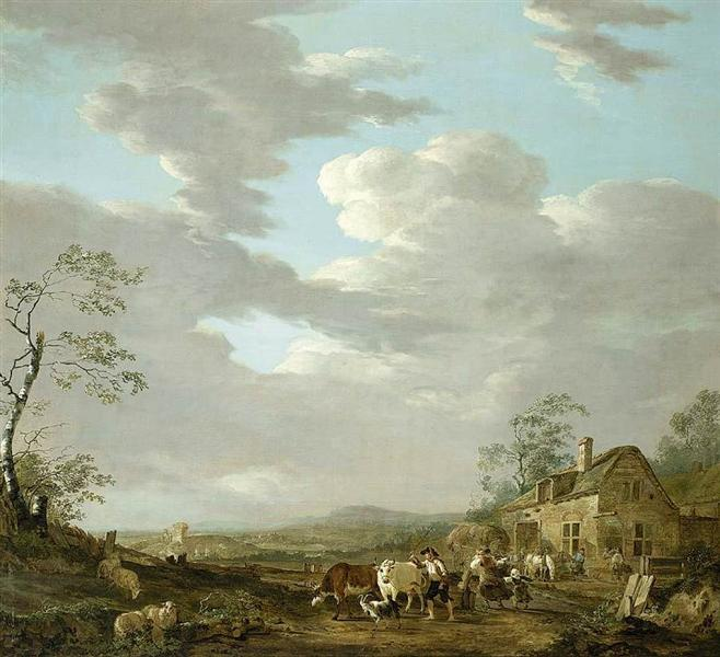 Autumn Landscape - Jacob van Strij