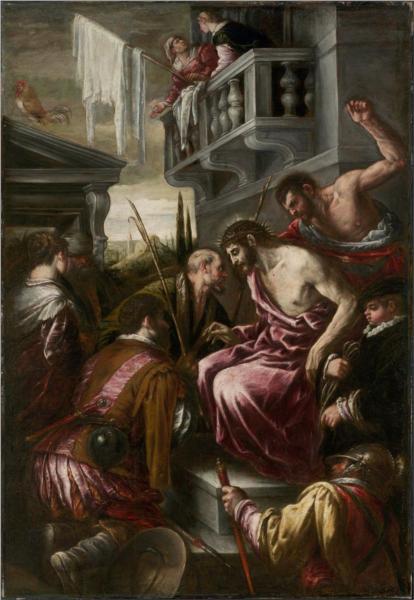 The Mocking of Christ, 1589 - Jacopo Bassano