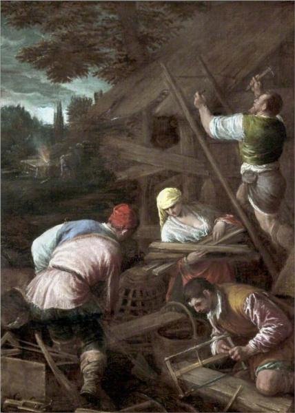 The Sacrifice of Noah, 1580 - Jacopo Bassano