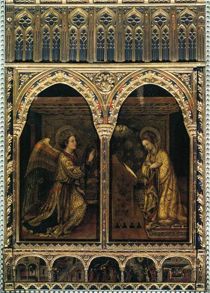 Annunciation, 1444 - Jacopo Bellini