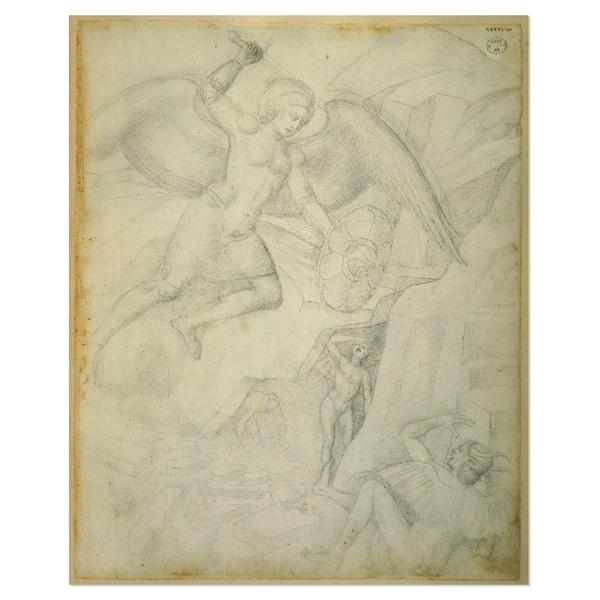 St Michael Defeating Satan - Jacopo Bellini